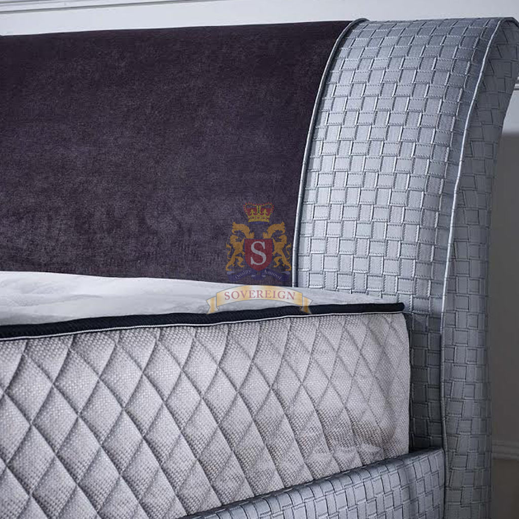 Sovereign Beds - Mayfair Wingback Ottman